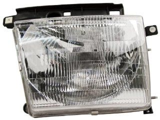 OE Replacement Toyota Camry Passenger Side Headlight Assembly Composite (Partslink Number TO2503137) Automotive