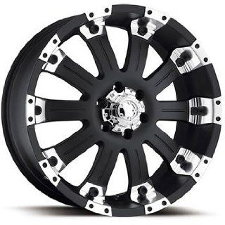 Ultra Mammouth 18x9 Black Wheel / Rim 6x5.5 with a 10mm Offset and a 108.00 Hub Bore. Partnumber 228 8983B Automotive