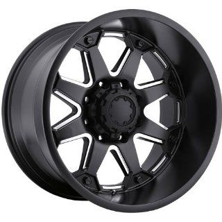 Ultra Bolt 18 Satin Black Wheel / Rim 5x150 with a 25mm Offset and a 110.3 Hub Bore. Partnumber 198 8950BM Automotive