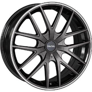 Touren TR60 16 Black Wheel / Rim 4x4.25 & 5x4.25 with a 42mm Offset and a 72.62 Hub Bore. Partnumber 3260 6720MB Automotive