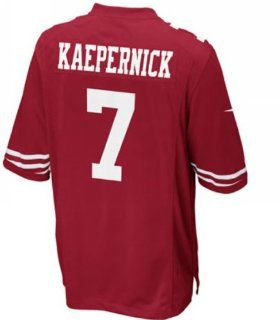 Colin Kaepernick San Francisco 49ers NFL Jersey (alphabet number is Sewn) (40)  Sports Fan Jerseys  Sports & Outdoors