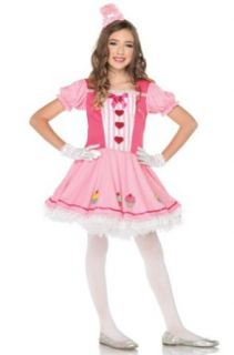 Leg Avenue Girls Miss Cupcake Costume Party Dress (2 Piece) Clothing