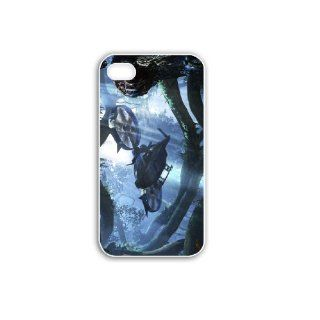 Diy Apple iPhone 4 4S Phone Case Personalized Gift Games Action Adventure Games Avatar Samson TranSport Game s White Cell Phones & Accessories