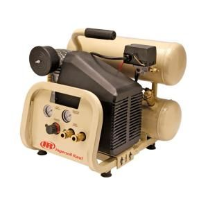Ingersoll Rand 4 Gal. Portable Twin Tank Electric Air Compressor P1IU A9
