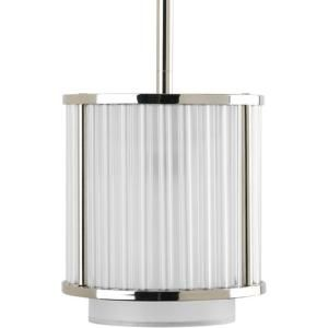 Thomasville Lighting Nisse Collection Polished Nickel 1 Light Mini Pendant P5105 104