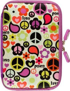 NeoSkin Kindle Fire HDX Zip Sleeve, Peace Out (fits Kindle Fire HDX, Kindle Fire, and Kindle Keyboard) Peter Pauper Press 9781441308283 Books