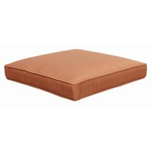 Hampton Bay Cibola Replacement Outdoor Ottoman Cushion FW HUNOTT CUSH