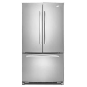Whirlpool Gold 24.8 cu. ft. French Door Refrigerator in Monochromatic Stainless Steel GX5FHTXVY