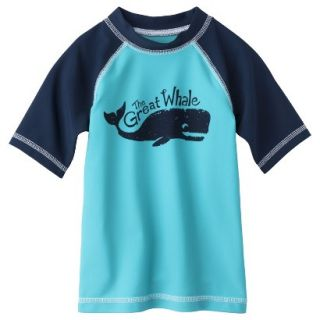 Circo Infant Toddler Boys Whale Rashguard   Blue 18 M