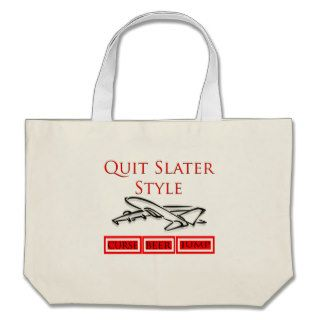 Steven Slater Flight Attendant Gifts Canvas Bag