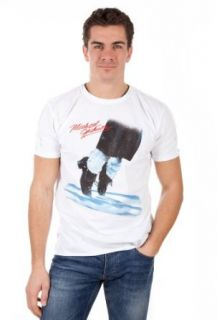 Amplified Herren T Shirt MICHAEL JACKSON DANCING FEET White AV201 MJF, sizes Bekleidung
