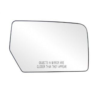 Fit System 80211 Ford Expedition Right Side Power Replacement Mirror Glass with Backing Plate Automotive