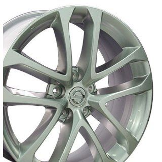 Factory Original Altima 62521 OEM Wheels Fits Nissan  Silver 18x7.5 Set of 4 Blemished Automotive