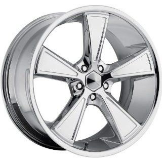Ultra Hustler 17 Chrome Wheel / Rim 5x4.5 with a 35mm Offset and a 73 Hub Bore. Partnumber 431 7866C+35 Automotive