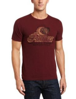 Lucky Brand Men's Indian Pioneer Graphic Tee, Burgundy, Medium at  Men�s Clothing store Fashion T Shirts