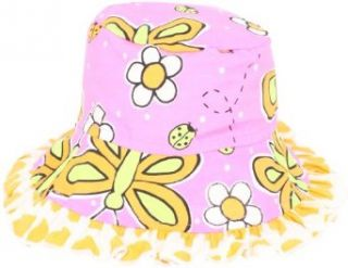Flap Happy Baby Girls Infant Upf 50 Plus Reversible Ruffle Hat Infant And Toddler Hats Clothing