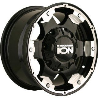 Alloy Ion Style 194 16 Black Wheel / Rim 5x5.5 & 6x5.5 with a 10mm Offset and a 108 Hub Bore. Partnumber 194 6895B Automotive