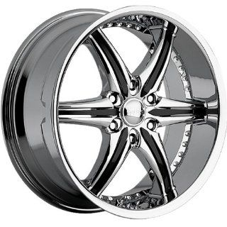 Cattivo 724 20x9 Chrome Wheel / Rim 6x5.5 with a 10mm Offset and a 110.00 Hub Bore. Partnumber 724290655+10C Automotive