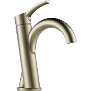 Delta Faucet 65075LF BN Brushed Nickel Odin Single Handle Lavatory