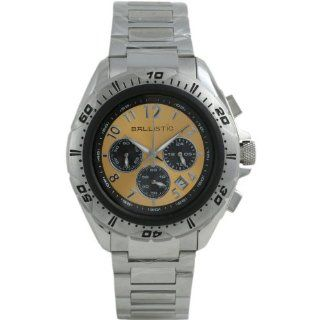 Ballistic BWE109 Mens Chronograph Silver Gold Watch at  Men's Watch store.
