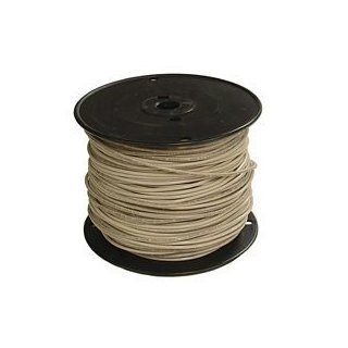 Marmon Home Improvement Prod 112 3452J 14 Stranded Building Wire, 500 Feet, White   Electrical Wires