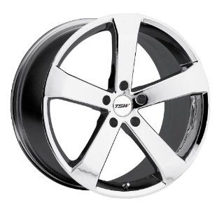 19x8 TSW Vortex (Chrome) Wheels/Rims 5x114.3 (1980VOR205114C76) Automotive