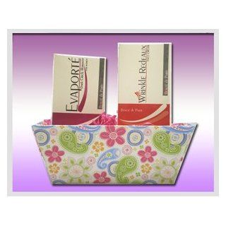 """The Radiant Face Gift Basket"" by Beaute de Paris   The Perfect Gift for the Women in Your Life  Skin Care Product Sets  Beauty"