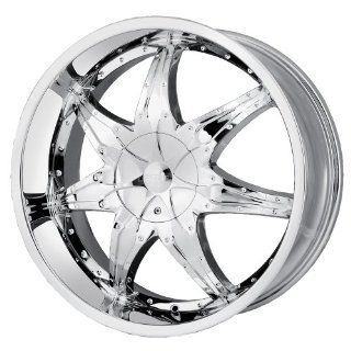 20x8.5 DIP Libra (D15) (Chrome) Wheels/Rims 5x115/127 (D15 2817C) Automotive