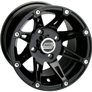 Moose Type 387X Front Wheel   12x7   4+3   4/156   Black 387MO127156GB4 2002 Polaris Magnum 500 2x4, 2002 2003 Polaris Magnum 500 4x4, 2010 2011 Polaris Ranger 4x4 400, 2003 2007 Polaris Ranger 4x4 500, 2006 2011 Polaris Ranger 4x4 500 EFI, 2007 Polaris Ra