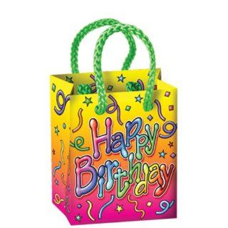Bulk Buys Happy Birthday Mini Gift Bag Party Favors   Case of 156   Childrens Party Decorations