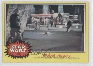 Rebel victory (Trading Card) 1977 Star Wars #158 Entertainment Collectibles