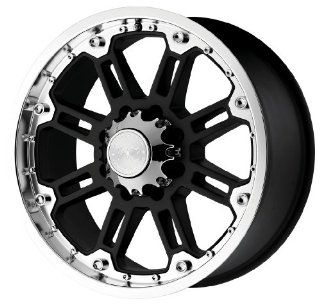 "Black Rhino Wheels Rockwell Series Gloss Black Wheel with Machined Lip (20x9""/8x165.1mm) Automotive"