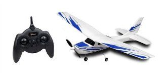 Top Race� Cessna 172 Full Function Electric 3 Ch Remote Control RC Airplane RTF (Colors Vary) Toys & Games