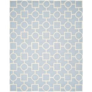 Safavieh Cambridge Light Blue/Ivory 8 ft. x 10 ft. Area Rug CAM143A 8