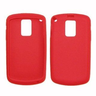 Red Soft Silicone Gel Skin Cover Case for Samsung Jack i637   Non Retail Packaging Cell Phones & Accessories