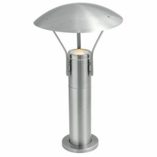 Eglo Roofus 1 Light Outdoor Stainless Steel Post Light 20648A