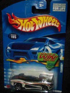 #2002 195 Flash Fire Collectible Collector Car Mattel Hot Wheels 164 Scale Toys & Games