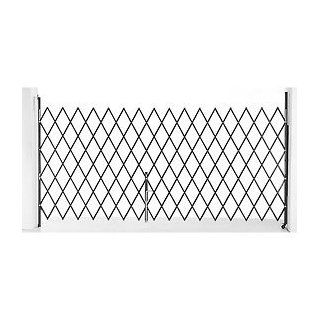 Single Folding Security Gate 7 1/2'W X 6 1/2'H  Indoor Safety Gates  Baby