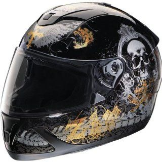 Z1R Jackal Pandora Helmet , Size Sm, Primary Color Black, Distinct Name Black Pandora, Helmet Type Full face Helmets, Helmet Category Street, Gender Mens/Unisex 0101 5393 Automotive