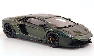 Lamborghini Aventador LP700 4, met. dark green, 2011, Model Car, Ready made, Look Smart 143 Look Smart Toys & Games