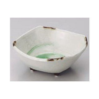 bowl kbu073 04 242 [5.12 x 5.12 x 2.17 inch] Japanese tabletop kitchen dish Naruto craze small bowl large 4.0 square bowl [13x13x5.5cm] restaurant restaurant business for Japanese inn kbu073 04 242 Kitchen & Dining
