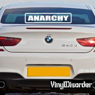 Anarchy Bumper Sticker Wall Decal   Vinyl Decal   Car Decal   DC263   Wall Decor Stickers