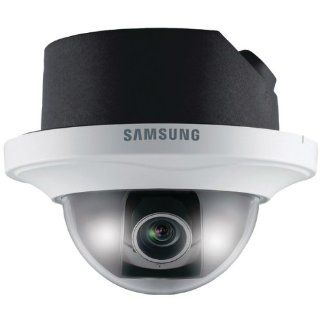 Samsung Security Snd 3080f H.264 Network Dome Camera With Secure Digital Card Slot  Computer Printers  Camera & Photo