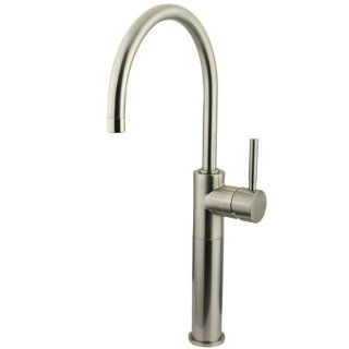# KS8038DL Kingston Brass KS8038DL CONCORD Single Handle Vessel Sink Faucet without Pop   Touch On Bathroom Sink Faucets