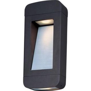 Filament Design Infinite Wall Mount 2 Light Outdoor Architectural Bronze LED Sconce HD MA42897816