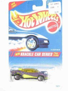 Krackle Car Series #4 Flashfire 5 Spoke Wheels #284 Collectible Collector Car Mattel Hot Wheels Toys & Games