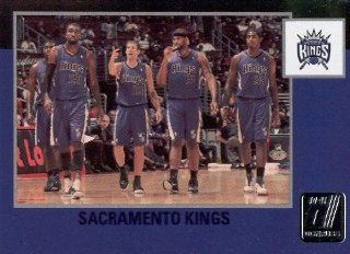 2010 11 Panini Donruss Basketball #292 Sacramento Kings Team Checklist NBA Trading Card Sports Collectibles
