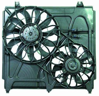 Depo 323 55005 000 Dual Fan Assembly Automotive