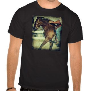 Run for The Finish Line, A Barrel Race Horse T Shirts