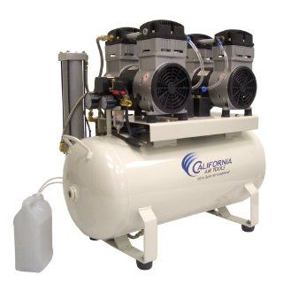 California Air Tools CAT 1740D Ultra Quiet and Oil Free 4.0 HP 17.0 Gallon Steel Tank Air Compressor with Dryer   Air Compressor Accessories